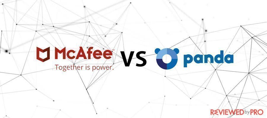The Ultimate software battle Mcafee VS Panda (2020 edit)