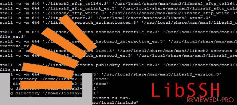 LibSSH vulnerability