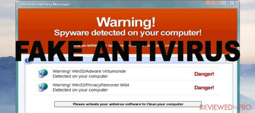 rogue antivirus strikes