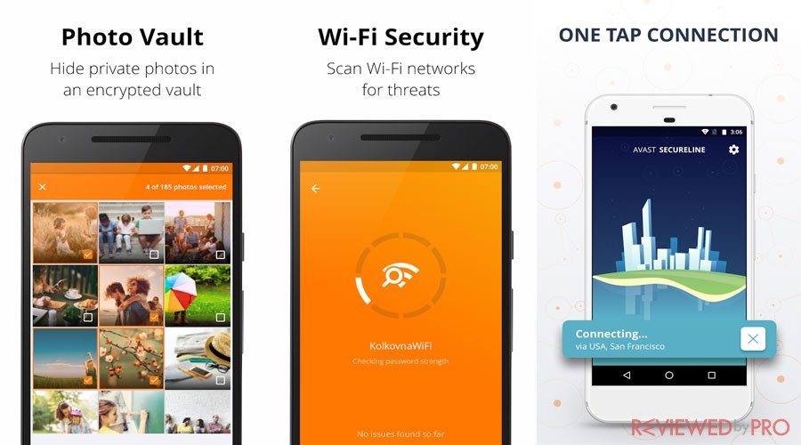Avast Mobile Security and Privacy