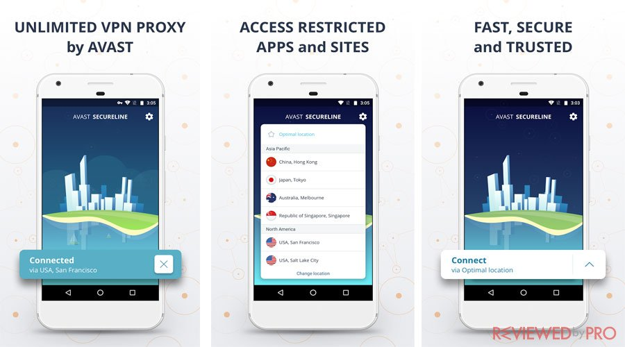 Avast VPN android