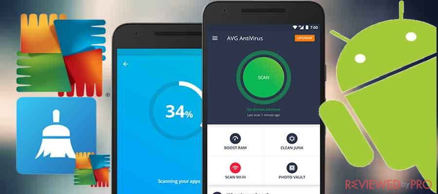 AVG antivirus cleaner for android