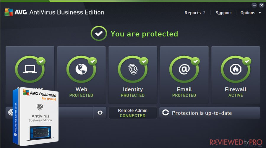 AVG Antivirus Business edition protection