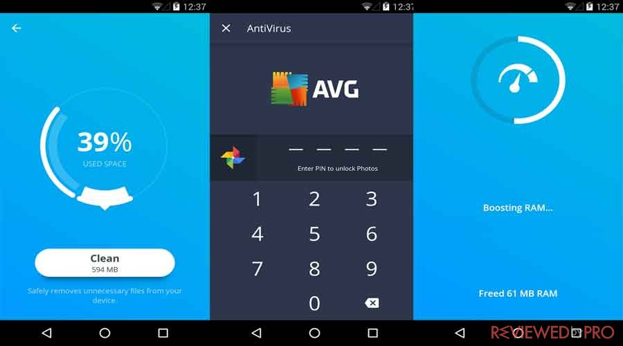 avg antivirus free android review