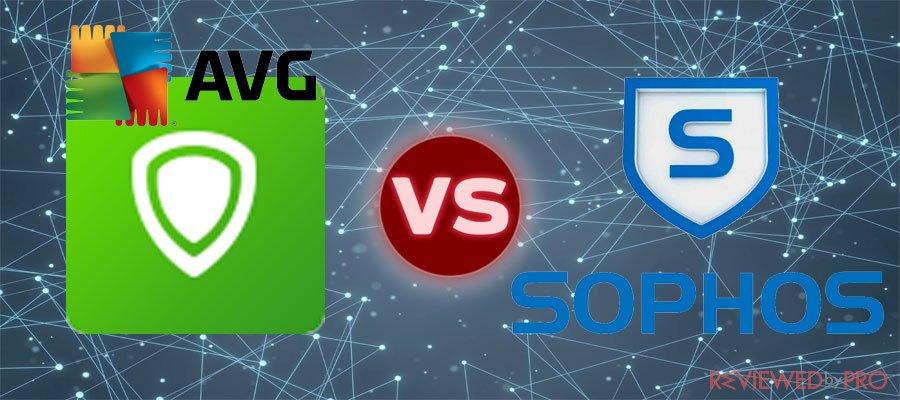 AVG VS Sophos