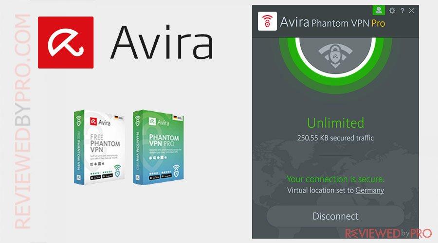 The short review of Avira's Phantom VPN for 2020