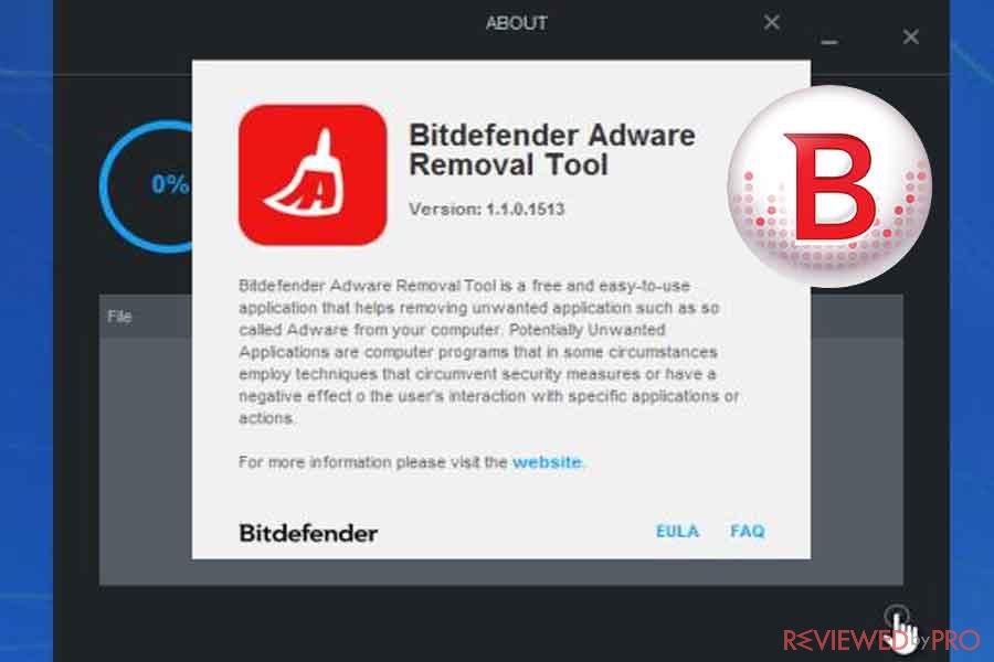 bitdefender adw removal