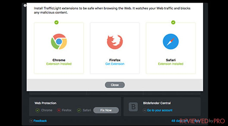Bitdefender Browsers