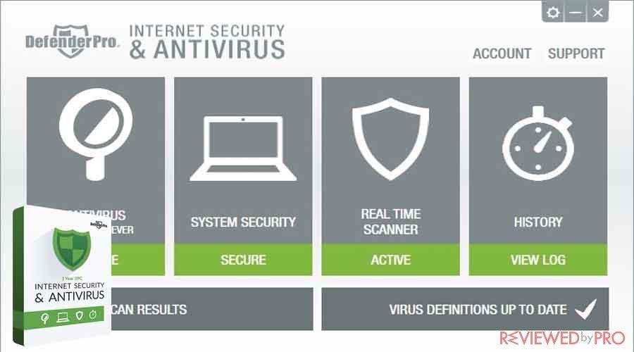 Defender Pro Total security