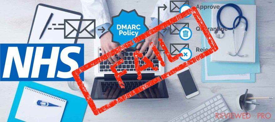DMARC Fails: patients' data exposed to phishing