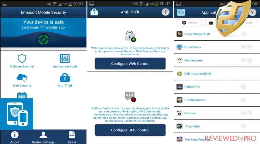emsisoft mobile for android