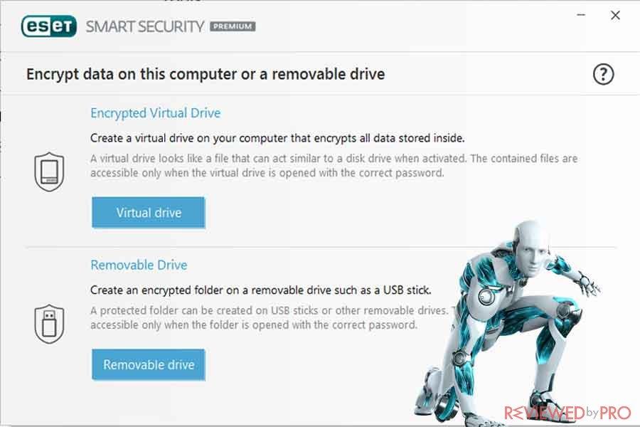 USB Security ESET