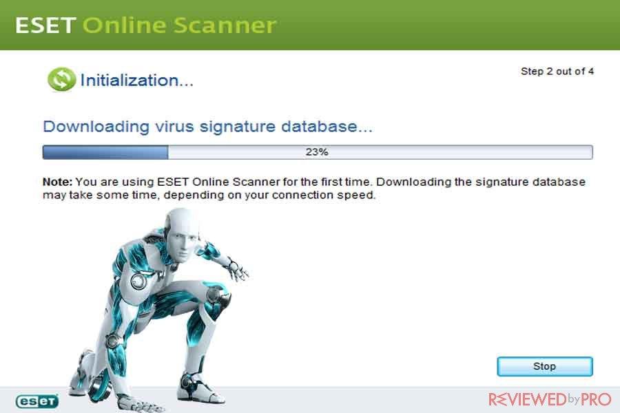ESET online free virus scan