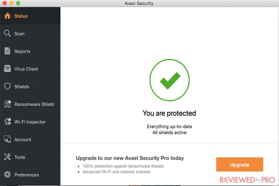 Free Avast Mac Security