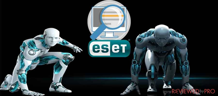 Free online virus scan from ESET