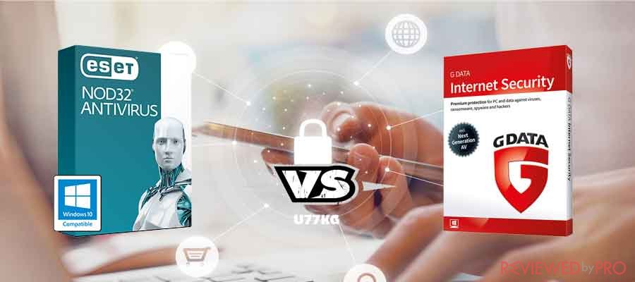 G DATA vs ESET NOD32