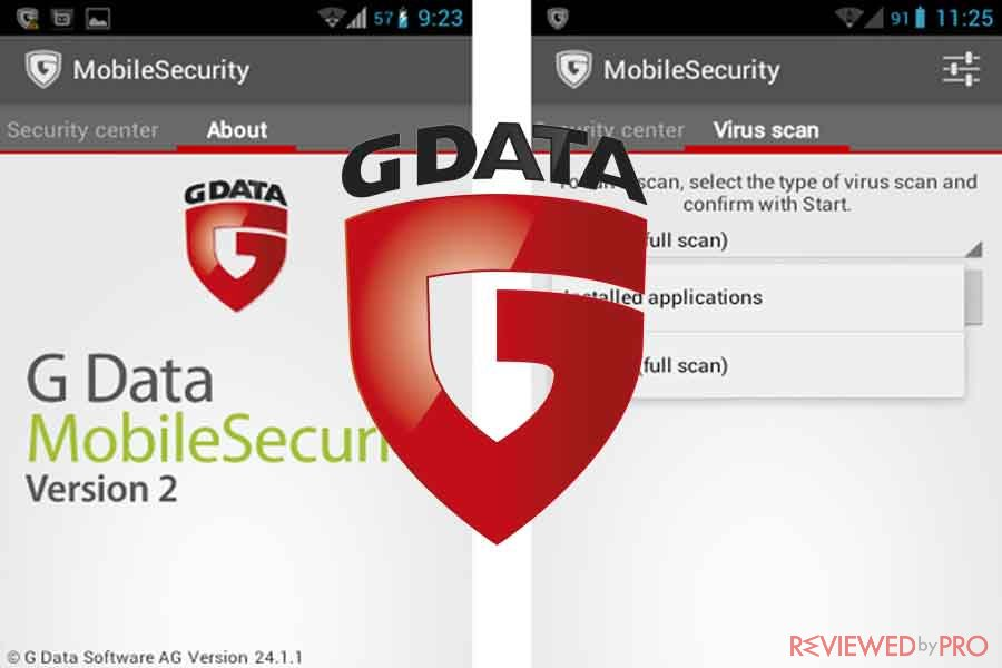 G DATA Mobile Internet Security for Android devices