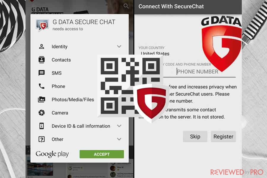 G DATA secure Chat Google Play