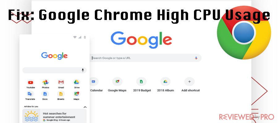 Google Chrome Helper high CPU usage on Mac