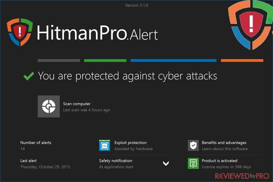 HitmanPro.Alert protected