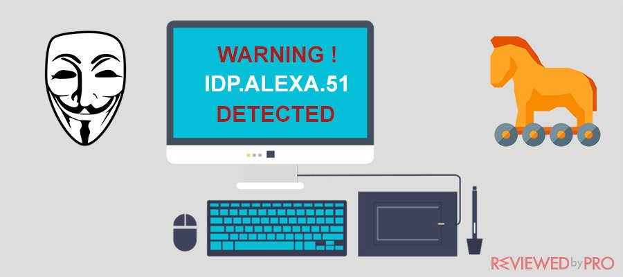 What is idp alexa 51 and how to remove it?