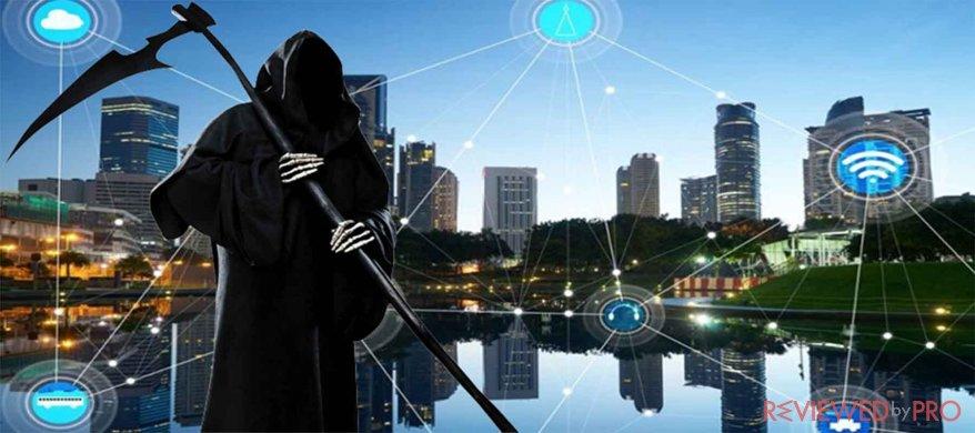 iot reaper mirai malware