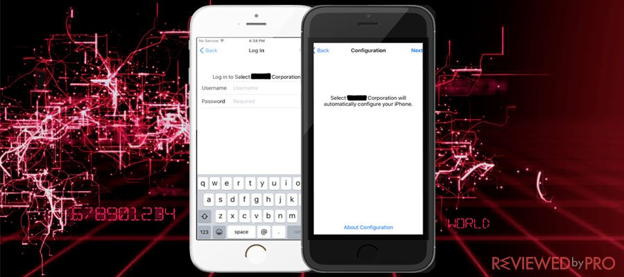 iPhones are targeted using a malicious open source MDM protocol