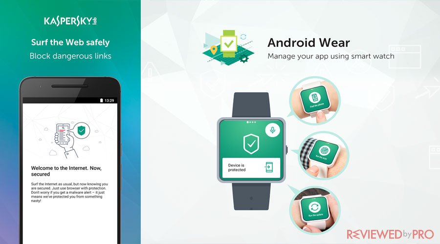Kaspersky Internet Security Android wear