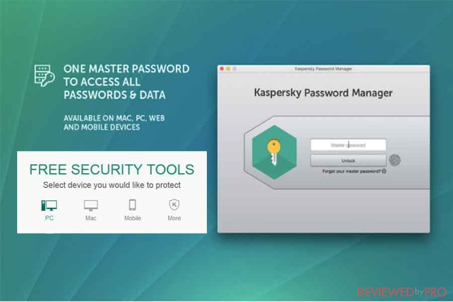 Kaspersky Free Password Manager