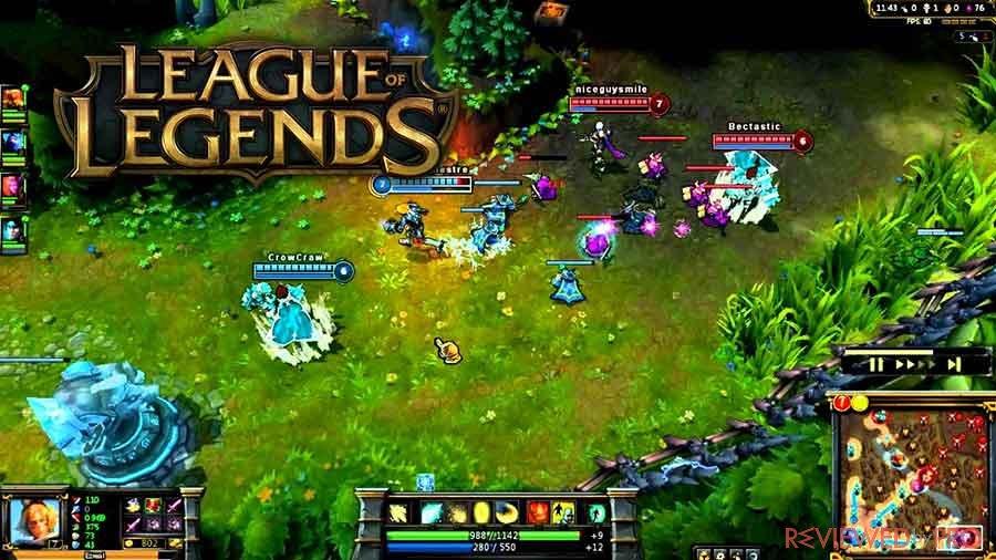 legue of legends play