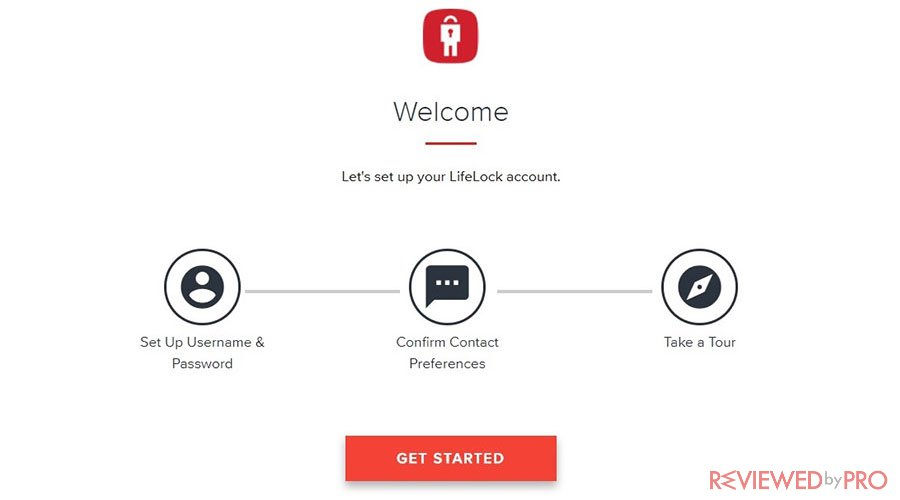 LifeLock getting started