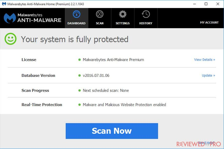 malwarebytes internet security