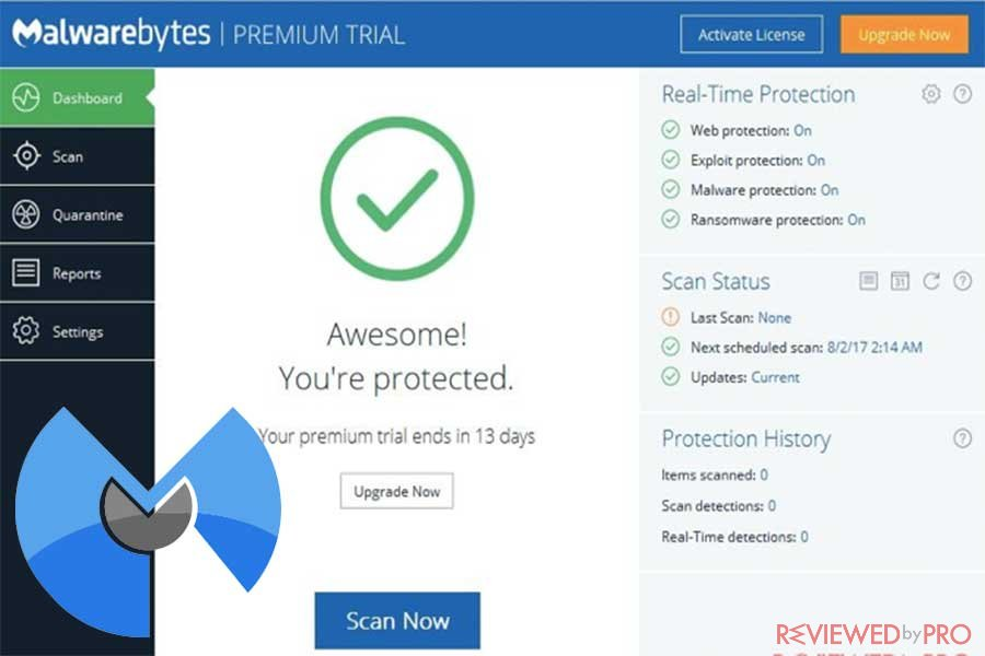 malwarebytes antimalware protection