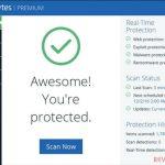 Malwarebytes protected