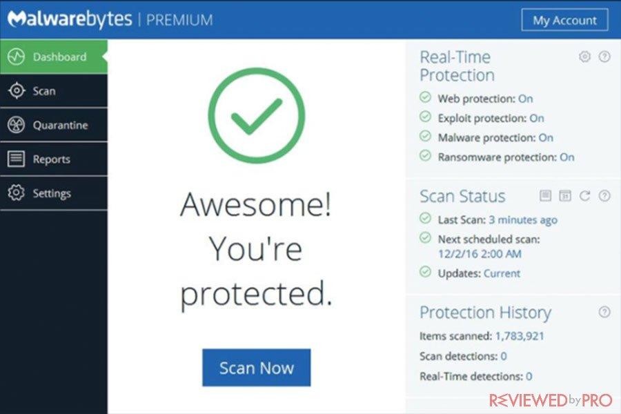 malware bytes safe