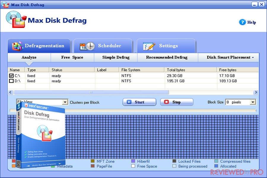 Max Disk Defrag