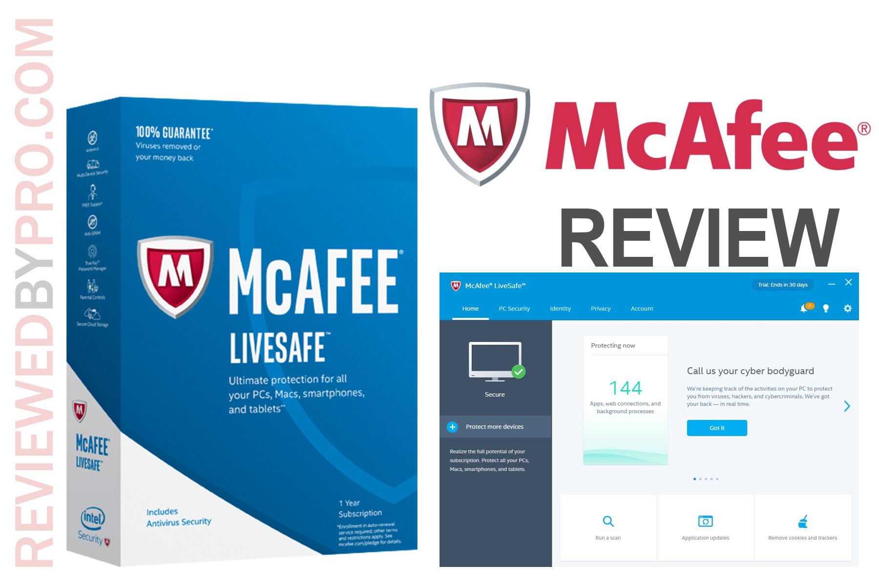 McAfee LiveSafe review
