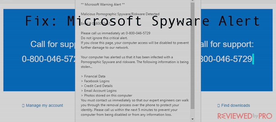 Microsoft Spyware Alert