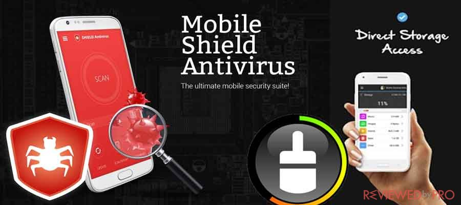 Mobile Shield Antivirus And Cleaning Utility