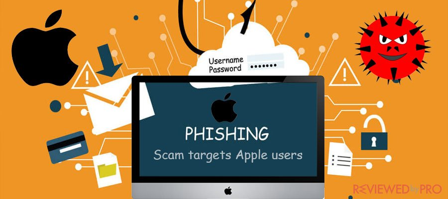 Phishing scam Apple