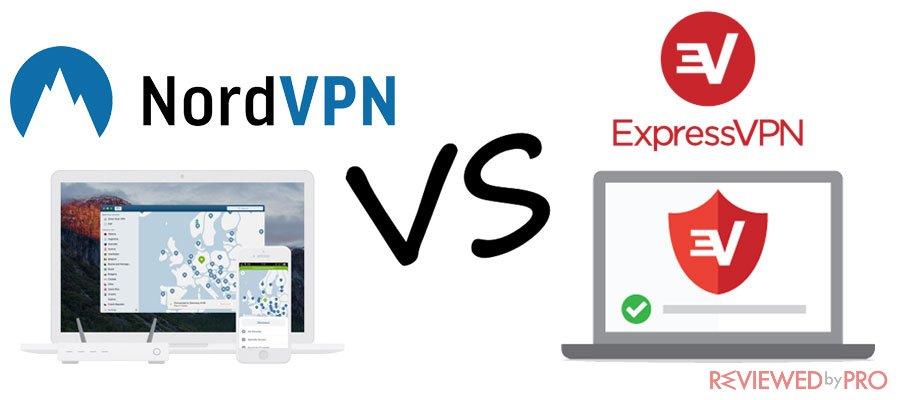 NordVPN VS Express VPN