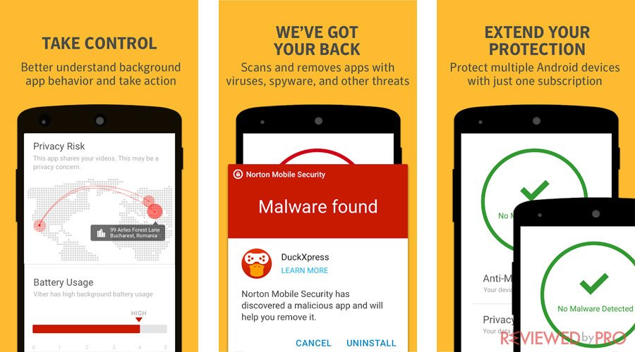 Norton mobile antivirus