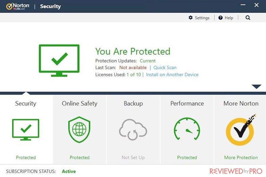 Norton Security Active