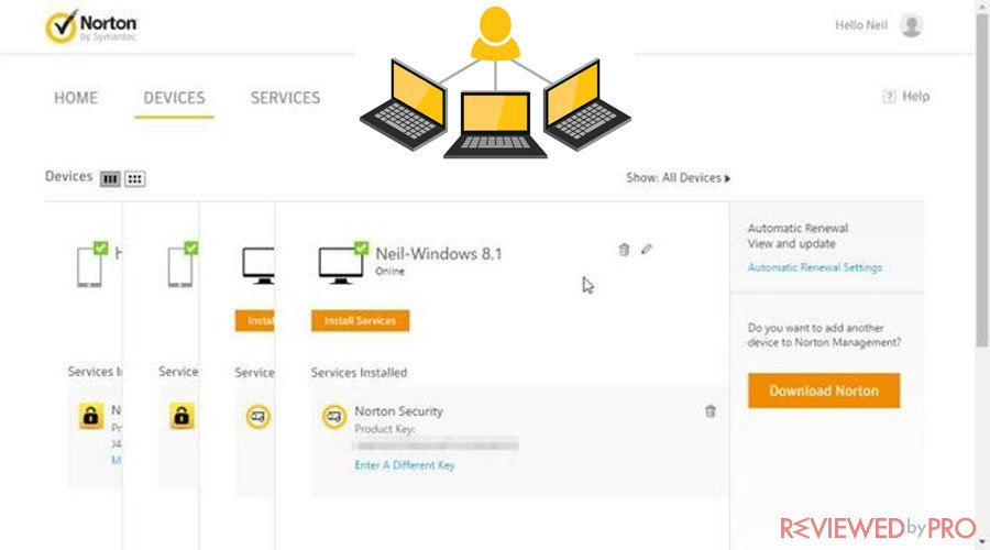 Norton protected devices small business