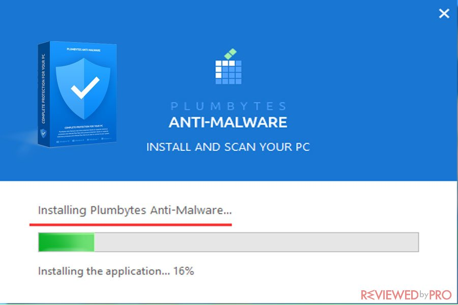 plumbytes antimalware installation