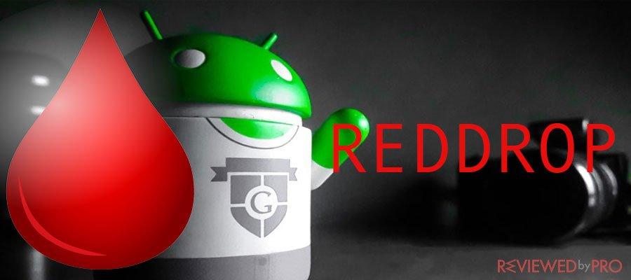 RedDrop mobile malware