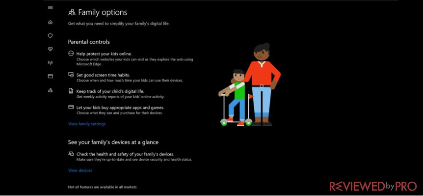 parental control on windows