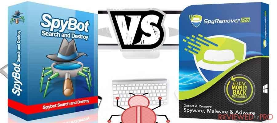 SpyBot VS SpyRemover Pro