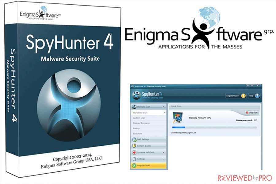 spyhunter internet security