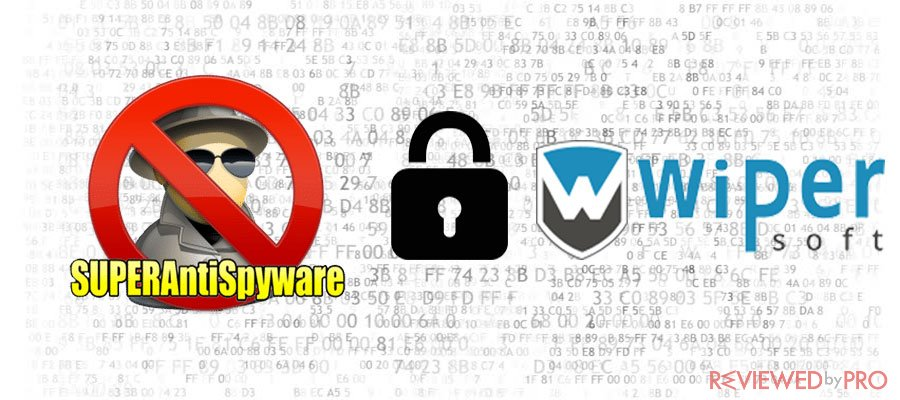 SUPERAntiSpyware and WiperSoft